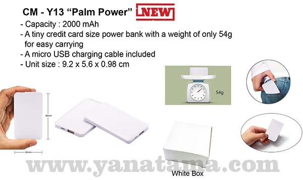 Power Bank 2000 Mah Cm Y13 600x400