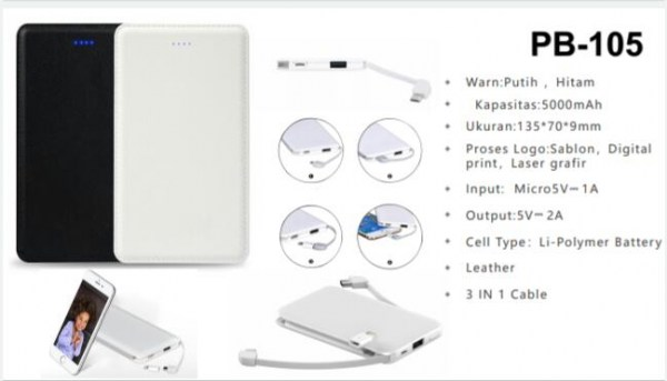 Power Bank Pb 105 600x400